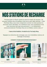 Prospectus The Body Shop Bruxelles - Midi : Nos stations de recharge