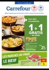 Prospectus Carrefour BIERGES : Les marchés du frais : Boeuf