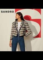 Prospectus Sandro : Nouveautés / Femme