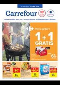 Prospectus Carrefour Market KORTENBERG : Prêt à griller?