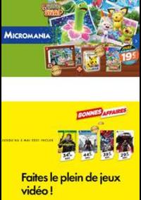 Prospectus Micromania Moisselles : Faites le plein de jeux vidéo !
