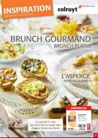 Prospectus Colruyt BREDENE : Brunch gourmand, brunch plaisir