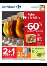 Prospectus Carrefour : Foire à la bière
