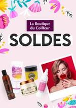 Promos et remises  : Soldes La Boutique du Coiffeur