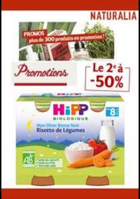 Prospectus Naturalia PARIS 11 rue Bayen : Le 2e à -50%