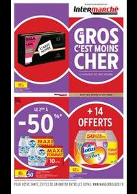 Prospectus Intermarché Super Bondy : EVEN GROS VOLUMES AVRIL