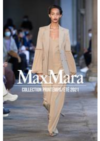 Prospectus Max Mara Paris 16 : Collection Printemps/Été 2021