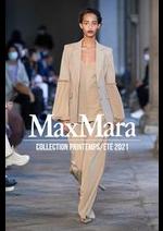 Prospectus Max Mara : Collection Printemps/Été 2021
