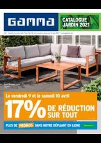 Promos et remises GAMMA UCCLE : Catalogue Jardin 2021