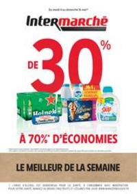 Prospectus Intermarché Super Vieux Thann : LE MEILLEUR DE LA SEMAINE MAI 1 V2
