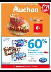 Prospectus Auchan BESSONCOURT : Voilà les beaux jours !