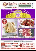 Prospectus Supermarchés Casino : Votre mois Casinomania