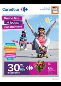 Prospectus Carrefour SAINT BRICE SOUS FORET : Bonne fête à toutes nos mamans