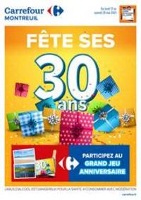 Prospectus Carrefour Montreuil : Fete ses 30 ans