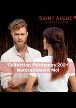 Prospectus saint algue : Collection Printemps 2021 Naturellement Moi
