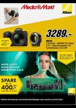 Prospectus Media Markt : Nikon: Sofort Rabatt Aktion