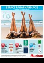 Prospectus Auchan : Vive l'été