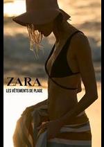 Prospectus ZARA : Les vêtements de Plage