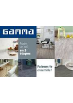 Prospectus GAMMA : Poser un sol en 5 étapes