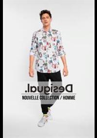 Prospectus Desigual Namur : Nouvelle Collection / Homme