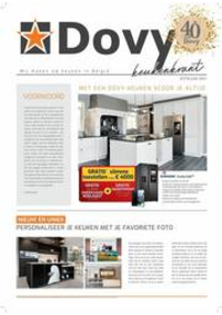 Journaux et magazines Cuisines Dovy Grimbergen : Keukenkrant