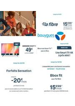 Prospectus Bouygues Telecom : Des offres