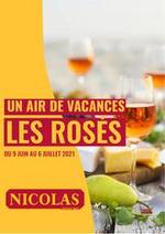 Prospectus Nicolas : Un air de vacances les rosés