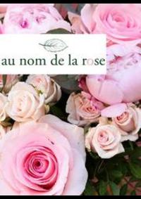 Prospectus Au nom de la rose Paris : Nouveautés