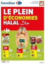Prospectus Carrefour : Le plein d'economies Halal