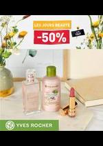 Prospectus Yves Rocher : Les Jours Beauté -50%
