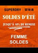 Prospectus Superdry : Femme Soldes