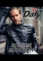 Prospectus Dafy moto : SOLDES BLOUSON