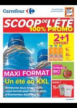 Prospectus Carrefour : SCOOP DE L'ETE 100% PROMO