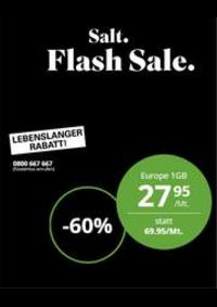 Prospectus Salt Bern - Bärenplatz  : Aktuelle Aktionen