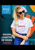 Prospectus Krys : SOLDES LUNETTES DE SOLEIL FEMME