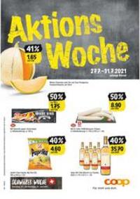 Prospectus Coop Supermarché Boncourt : Aktions Woche