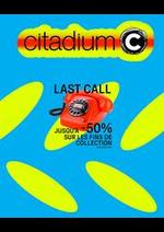 Prospectus Citadium : LAST CALL