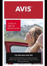 Prospectus AVIS - Sarcelles - ville : Offres