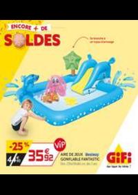Prospectus Gifi VILLEMOMBLE : Soldes - Les indispensables de l'été!