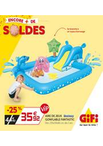 Prospectus Gifi : Soldes - Les indispensables de l'été!