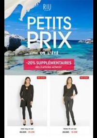Prospectus Jacqueline Riu BOURGES : PETITS PRIX DE L'ÉTÉ