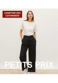 Prospectus Comptoir des cotonniers Bourges : Petits Prix