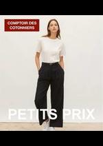 Prospectus Comptoir des cotonniers : Petits Prix