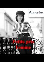 Prospectus Armor Lux : Petits prix femme