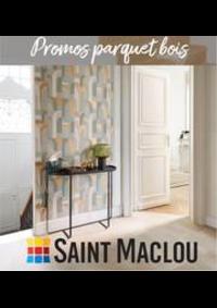 Prospectus Saint Maclou Gonfreville : Promos parquet bois