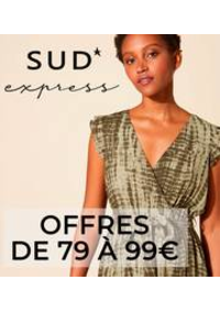 Prospectus Sud express BOULOGNE BILLANCOURT : Offres De 79 à 99€