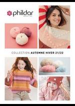Promos et remises  : Phildar Collection Automne Hiver 21/22