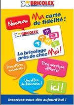 Prospectus Bricolex : MA CARTE DE FIDÉLITÉ