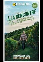 Prospectus Lidl : Foire aux vins