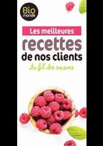 Prospectus Biomonde : Les meilleures recettes de nos clients !